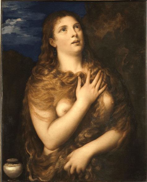 Titian, Mary Magdalene, 1533-35