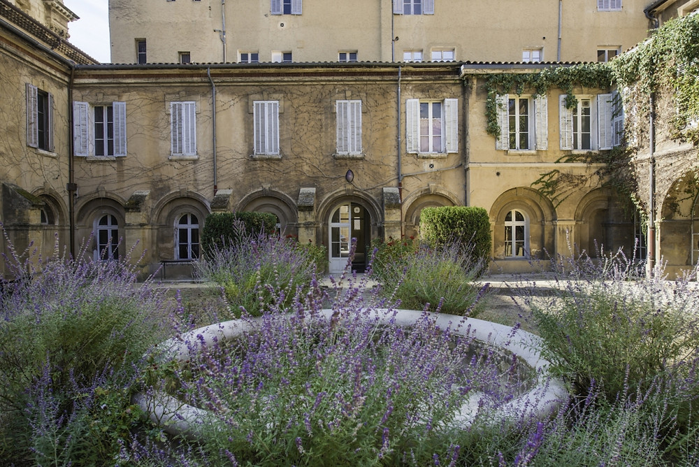 the convent, Collège des Prêcheursin, which will house the new Picasso museum just outside Aix-en-Porvence