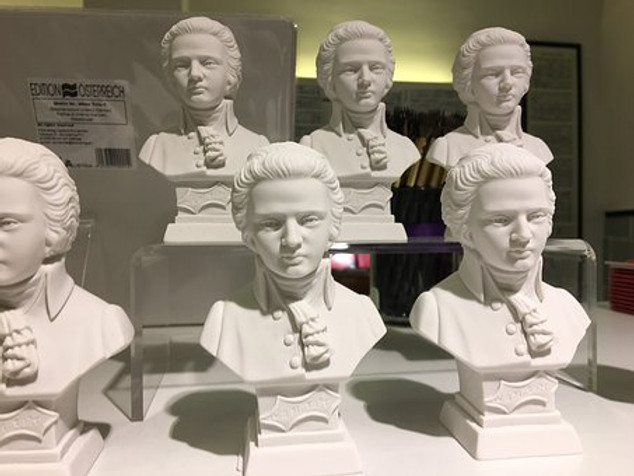 busts in the House of Music