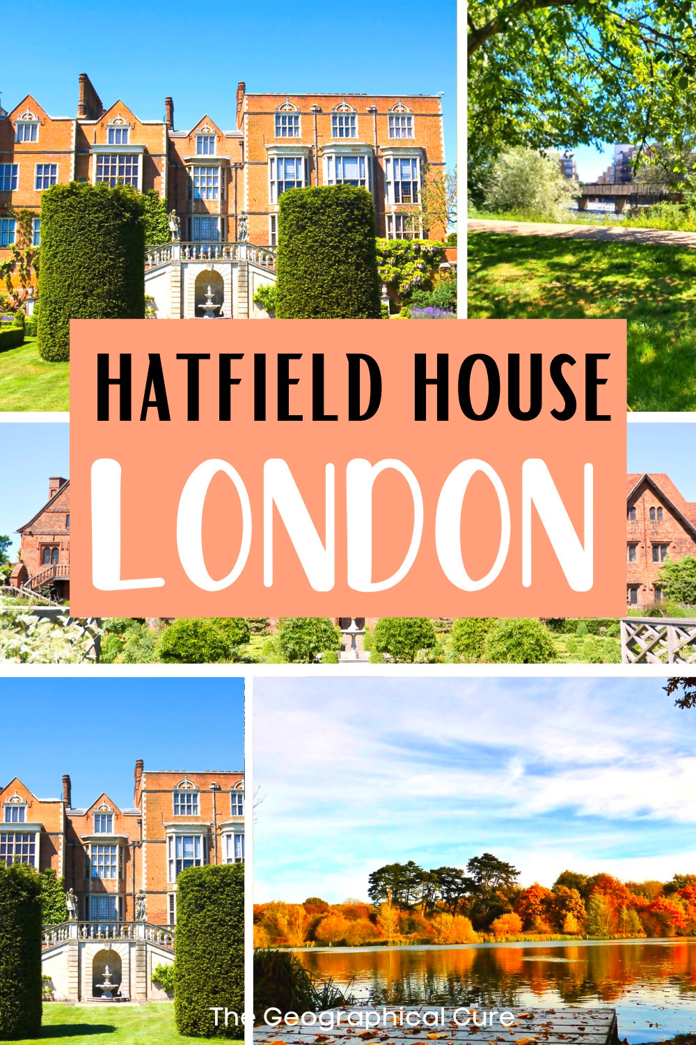 visitor's guide to Hatfield House, a perfect day trip from London