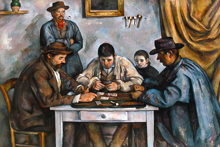 Paul Cezanne, The Card Players, 1890-92