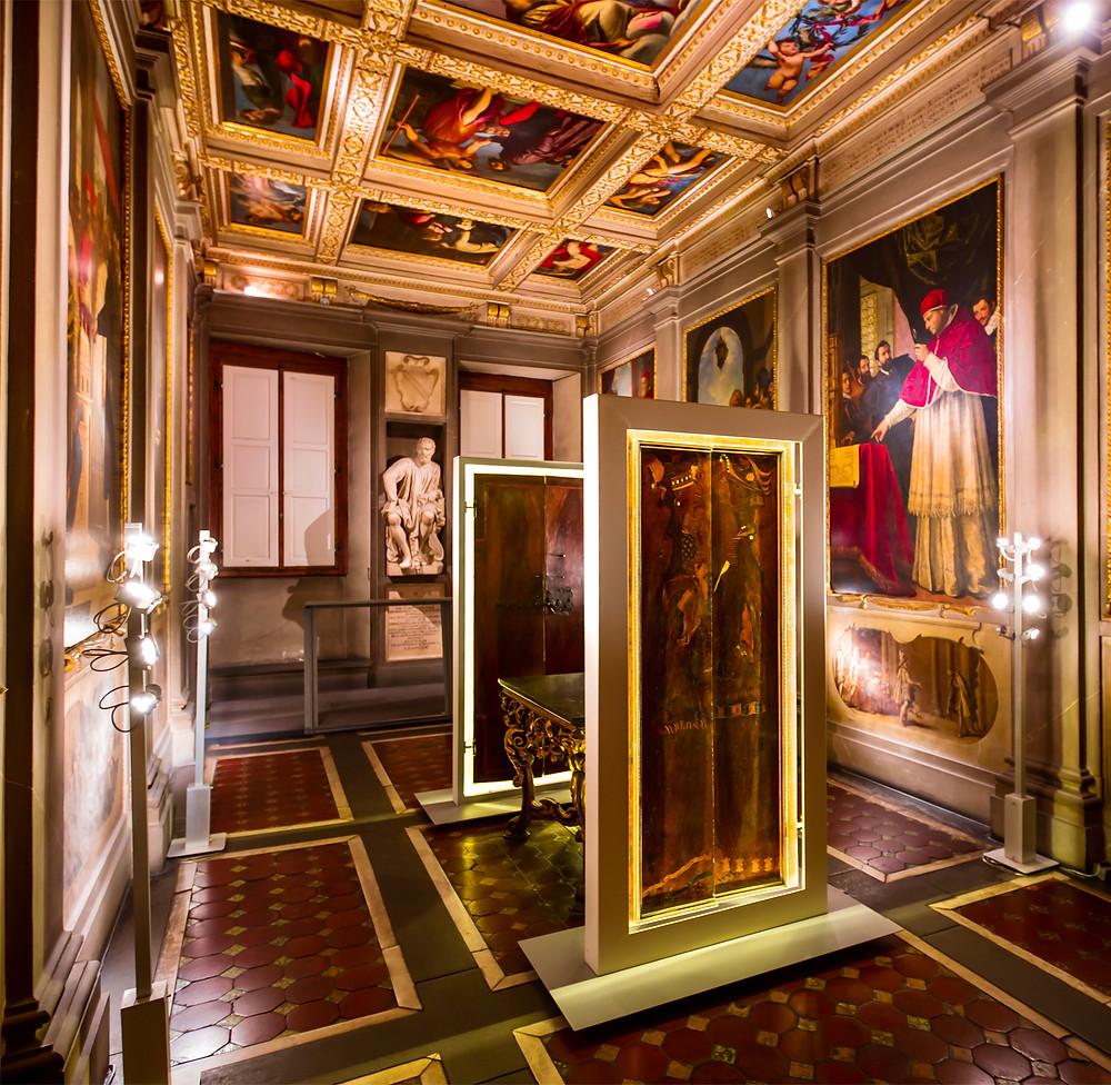 room in the first floor of Casa Buonarroti