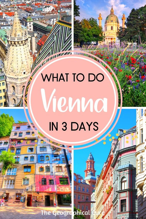 perfect 3 day itinerary for Vienna Austria