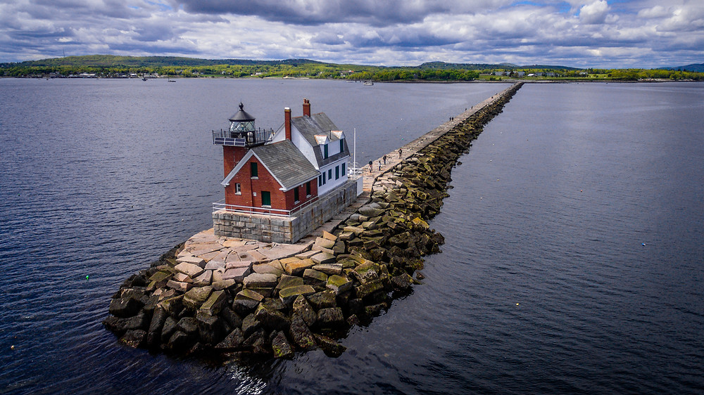 Rockland Harbor Breakwater Lighthouse