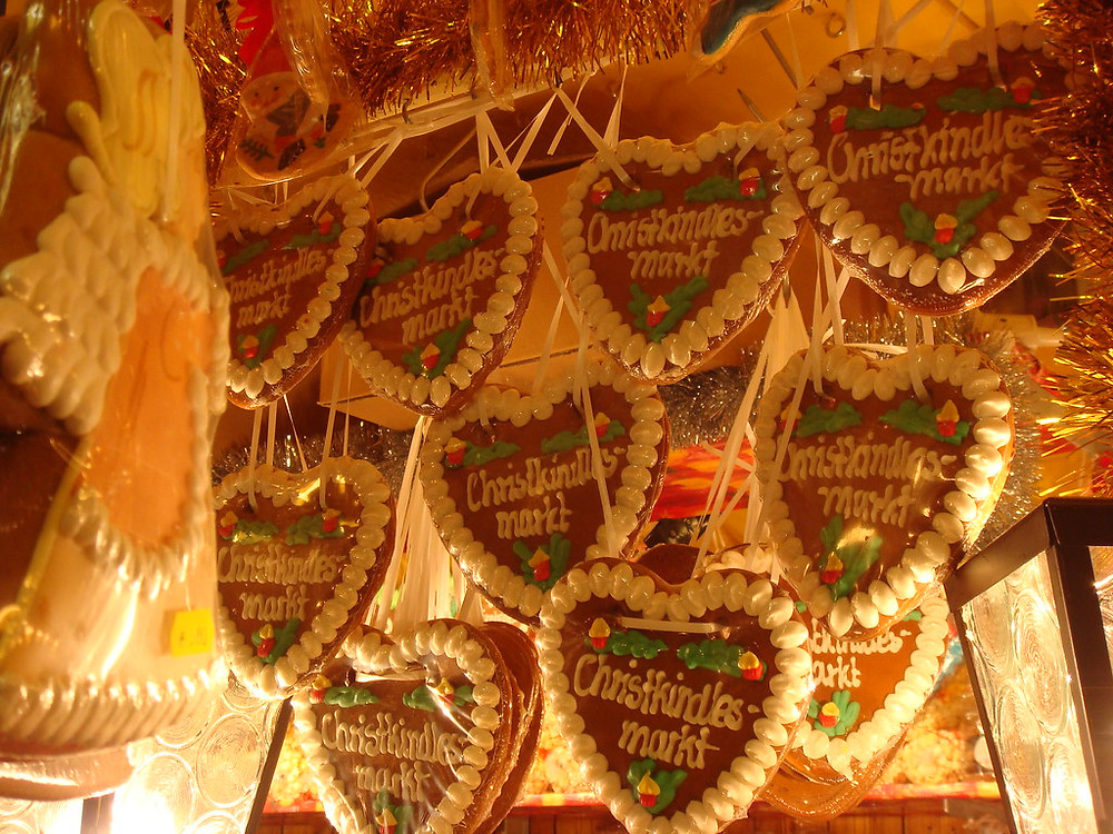 Nuremberg gingerbread, a local specialty