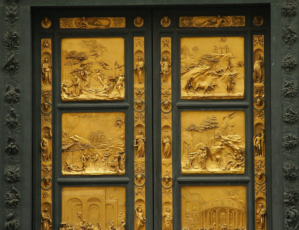 Ghiberti's Gates of Paradise, 1425-52