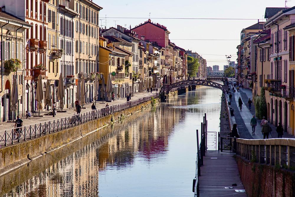 Grande Canal of the Navigli