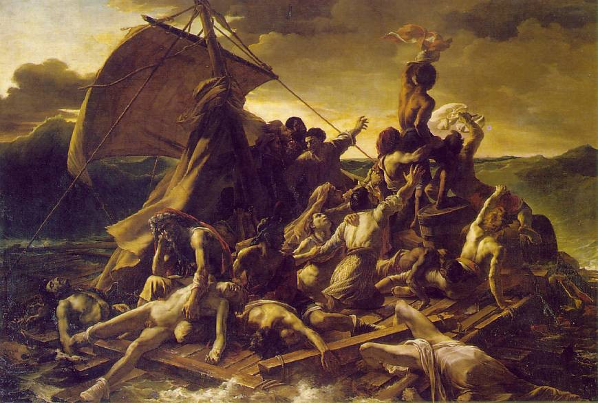 Theodore Gericault, Raft of the Medusa, 1819