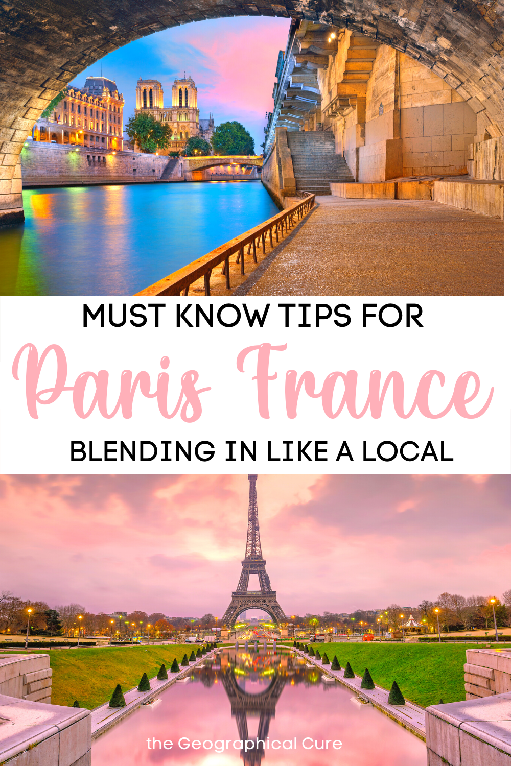 Must Know Tips for Visiting Paris