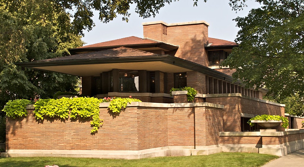 Frank Lloyd Wright's Robie House, one of eight Wright UNESCO sites