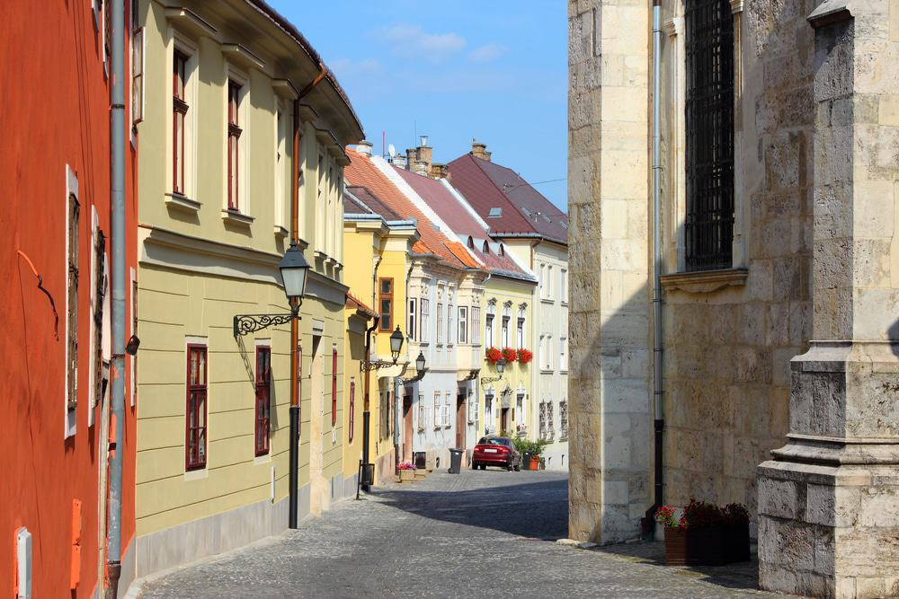 historic old town of Gyor