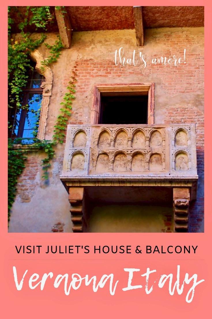 Juliet's House in Verona Italy