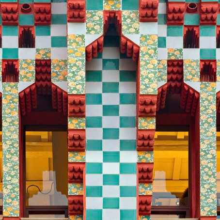 Gaudí's First House, the Regal Casa Vicens in Barcelona