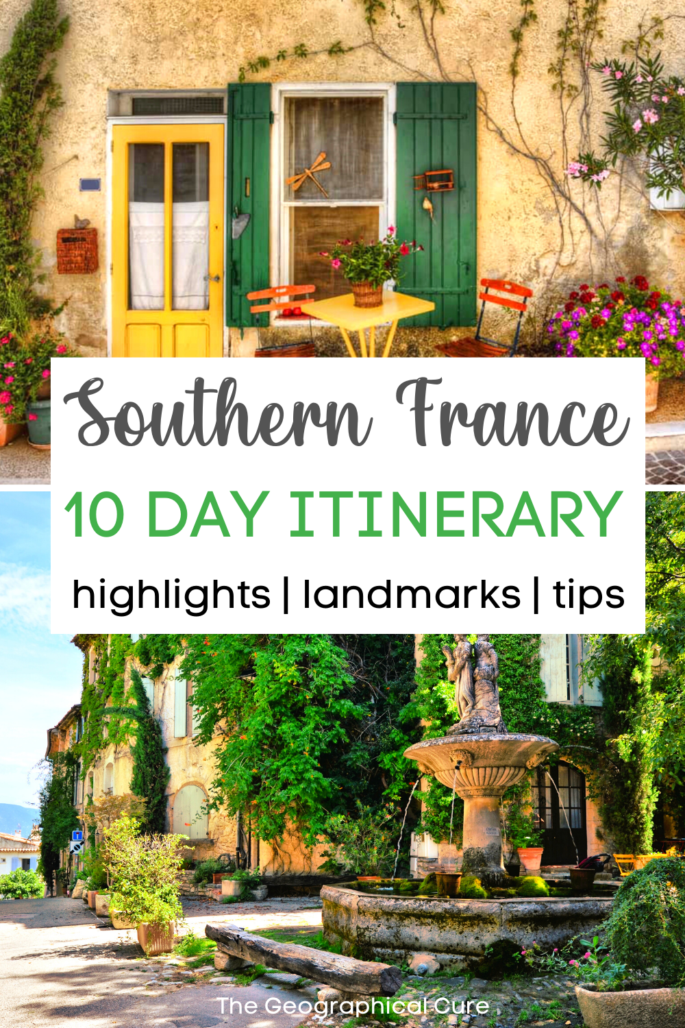 10 Day Itinerary for Southern France