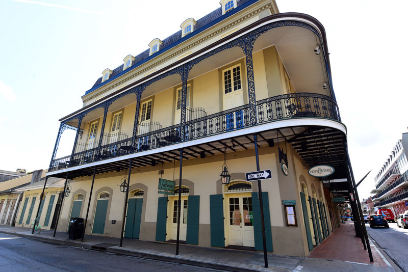 Hotel St. Marie in the French Quarter