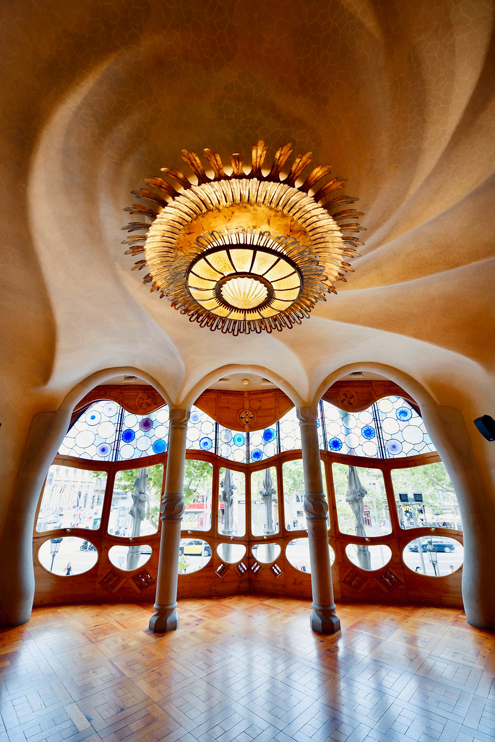 beautiful ground floor of Casa Batllo