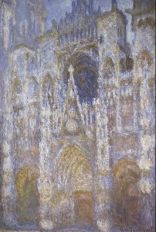Monet, Rouen Cathedral (The Portal Morning Sun), 1894
