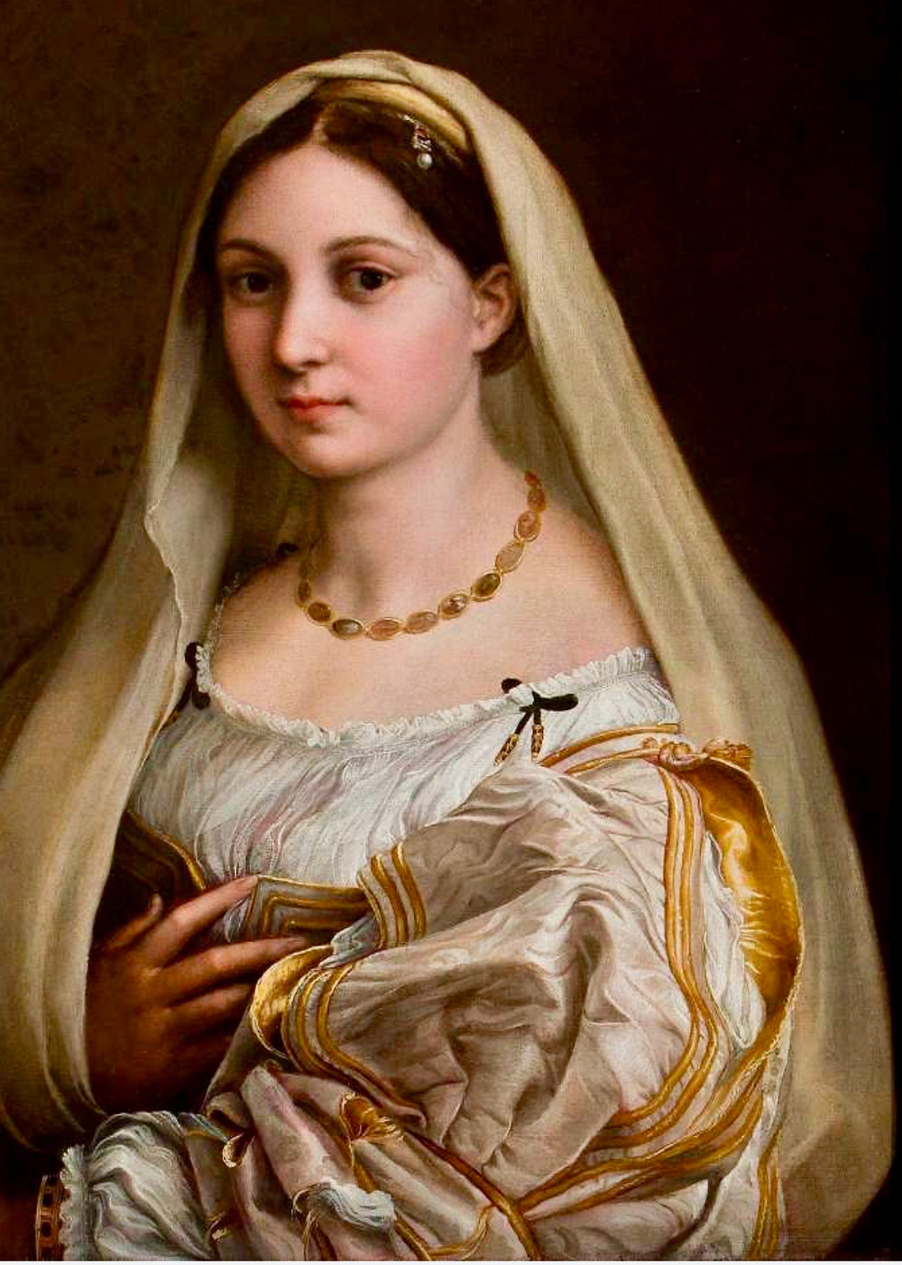 Raphael, Woman With a Veil, 1515