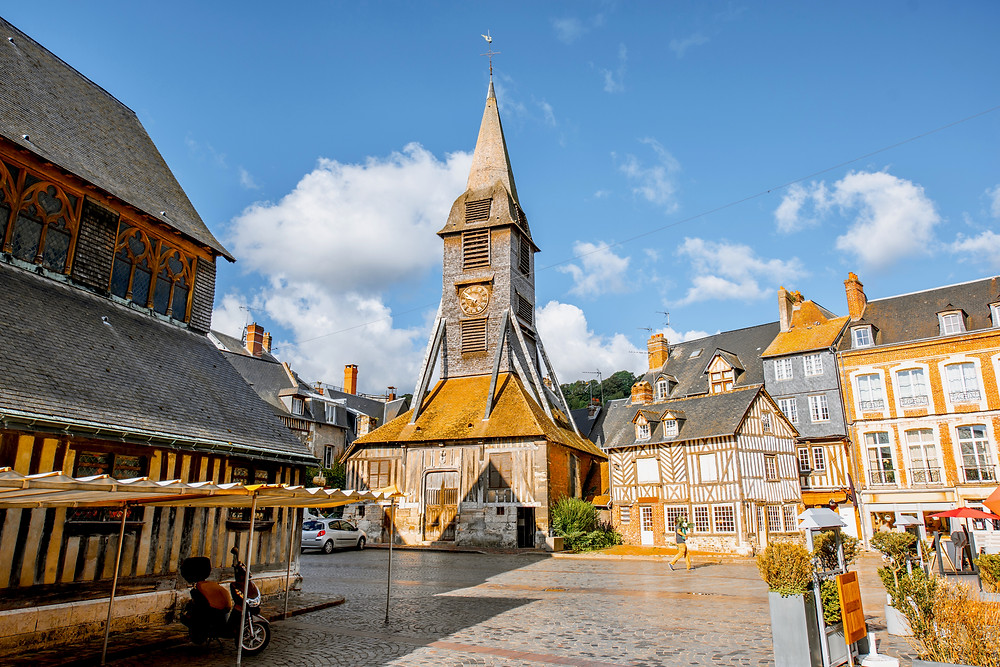 medieval Church of Saint Catherine in Honfleur
