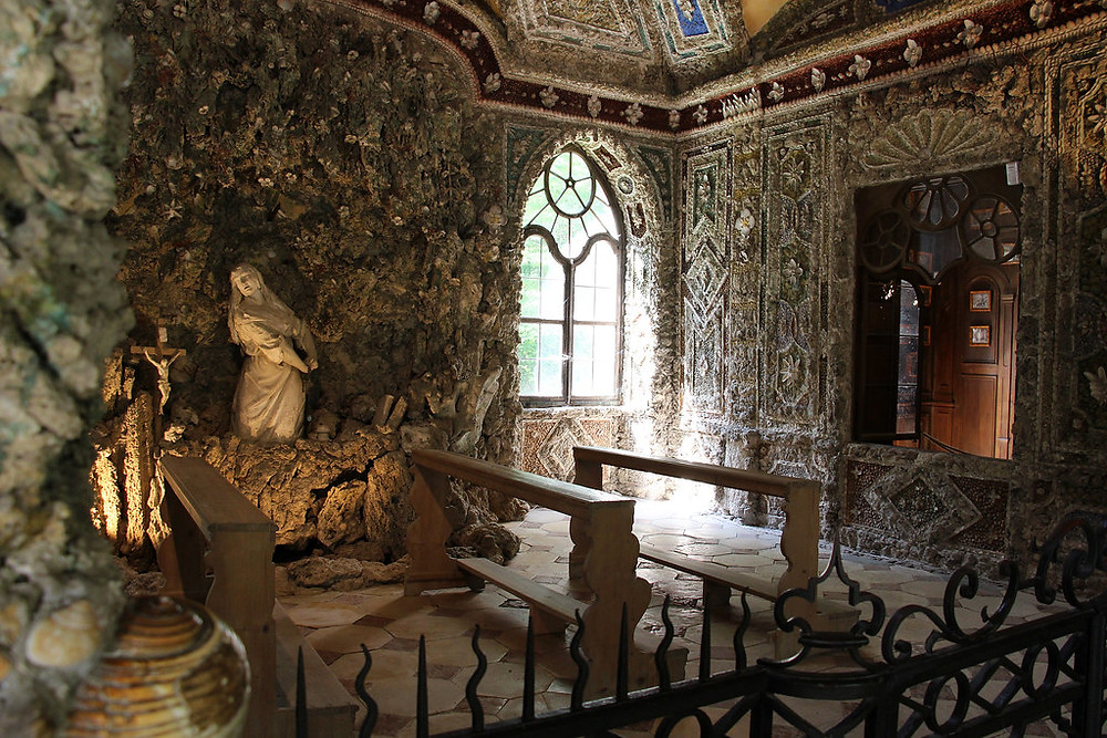 grotto design of Mary Magdalene in the Magdalene Inn on the Nymphenburg Palace Park grounds