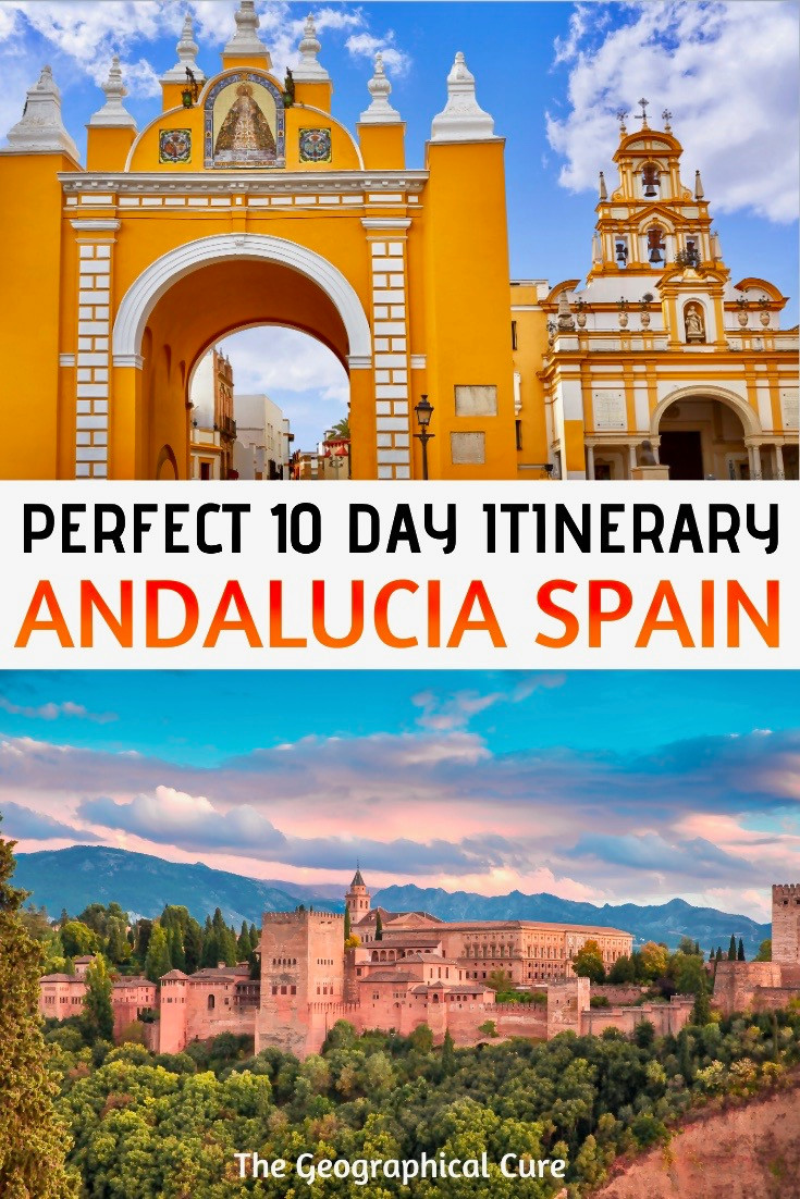 10 day itinerary for Andalucia in southern Spain