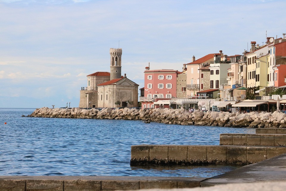 the Promontory Punta Madonna in Piran