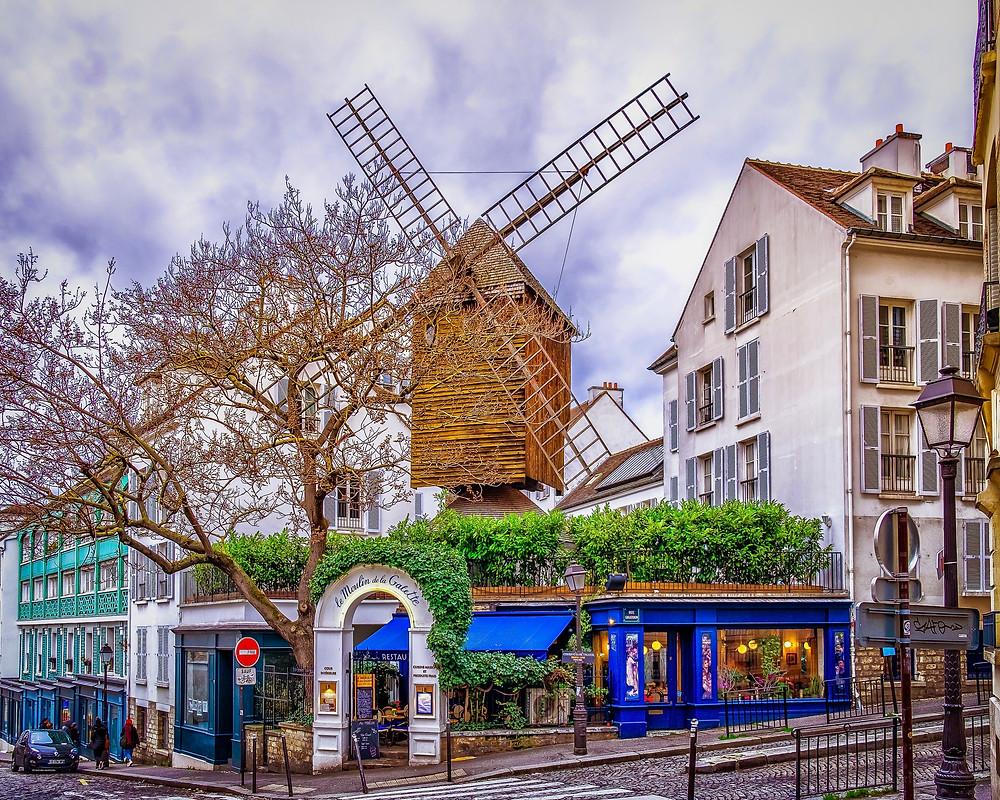 Le Moulin da la Galette in Montmartre
