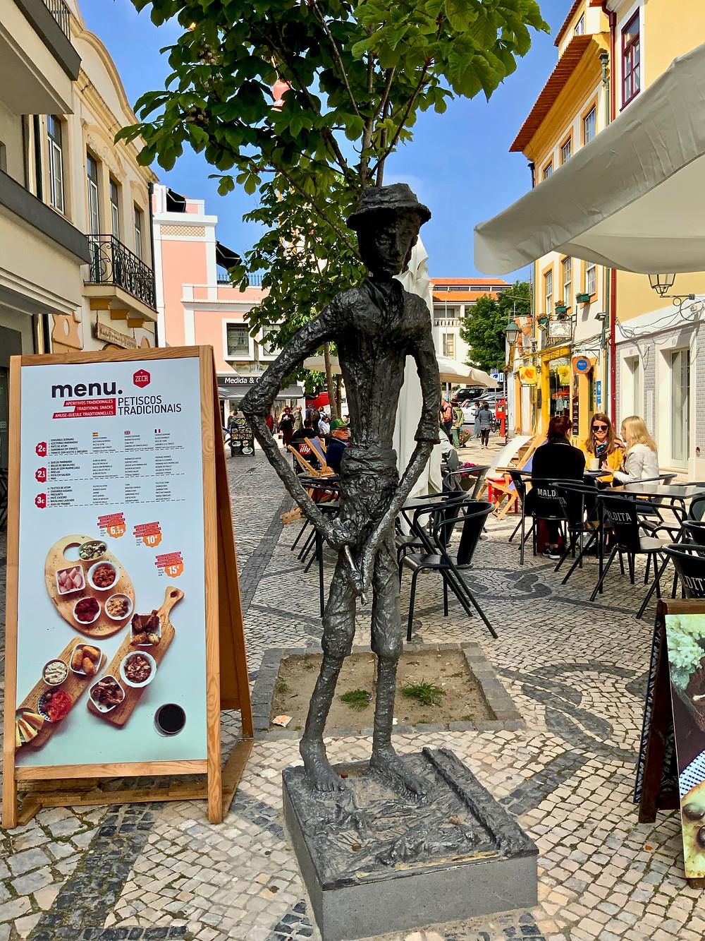 cute street in Aveiro Portugal