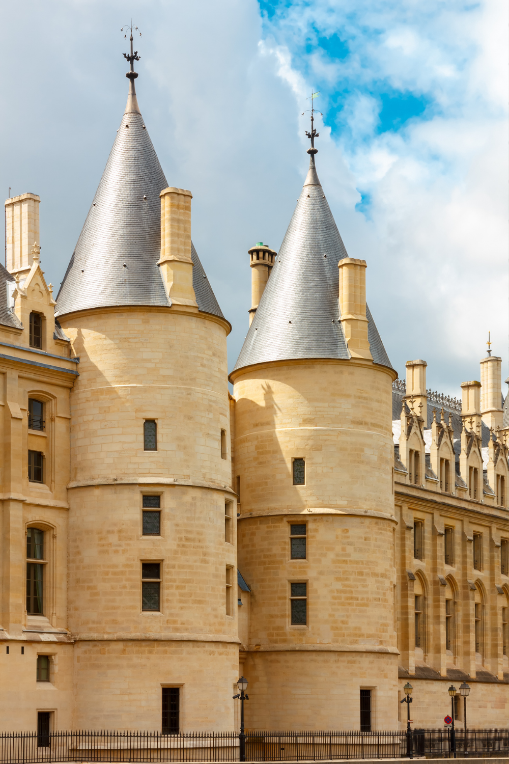 pointy towers of the Conciergerie