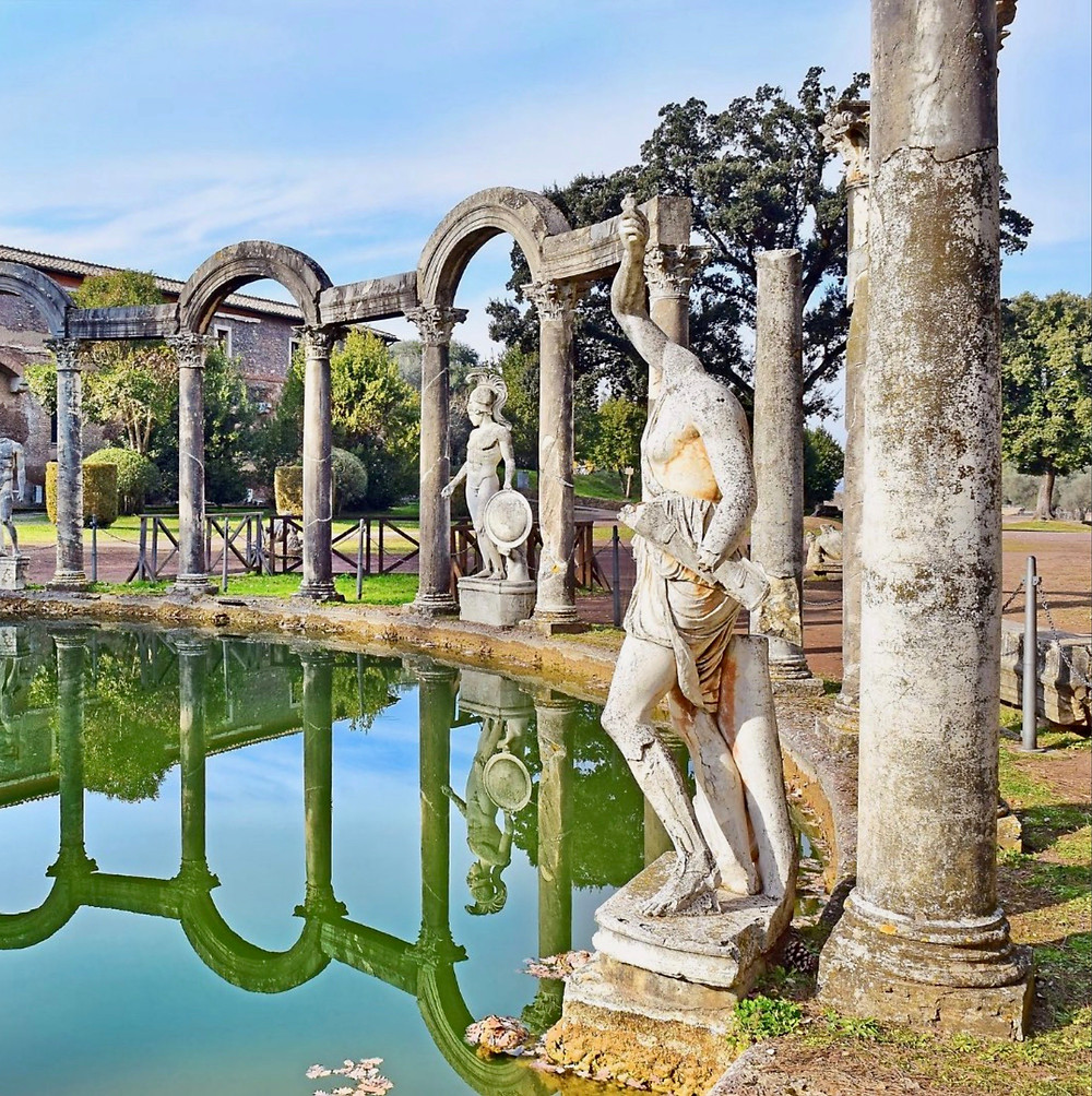 northern end of the Canopus in Hadrian's Villa