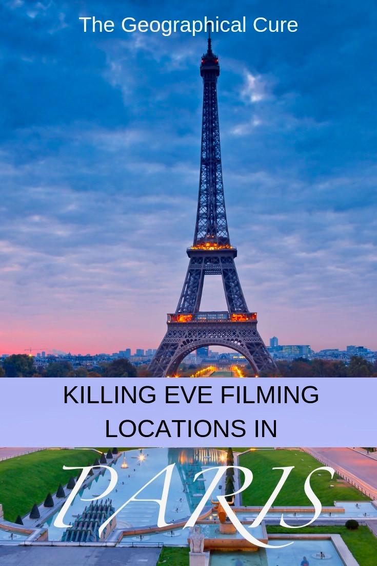 Killing Eve Filming Locations in Paris