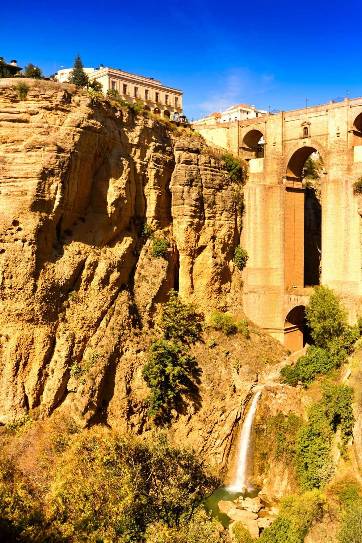 the new Bridge in Ronda