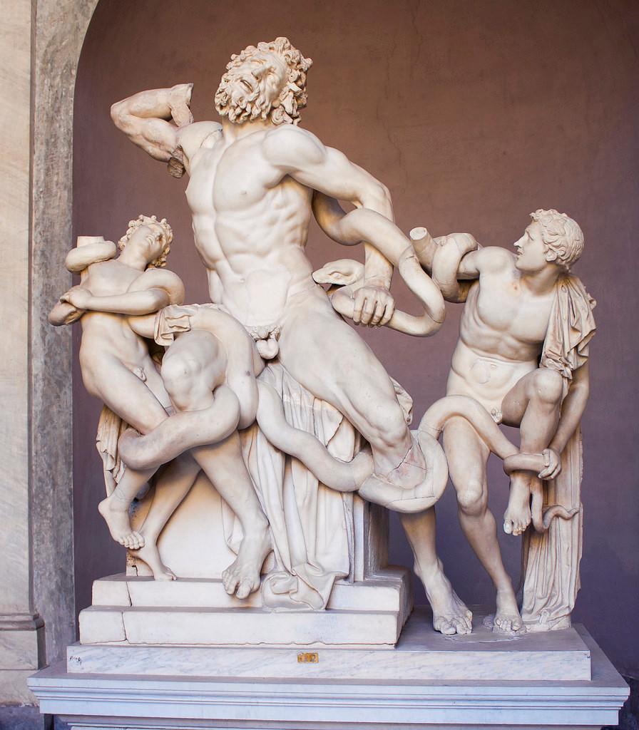 Laocoön and His Sons, 3rd century B.C.