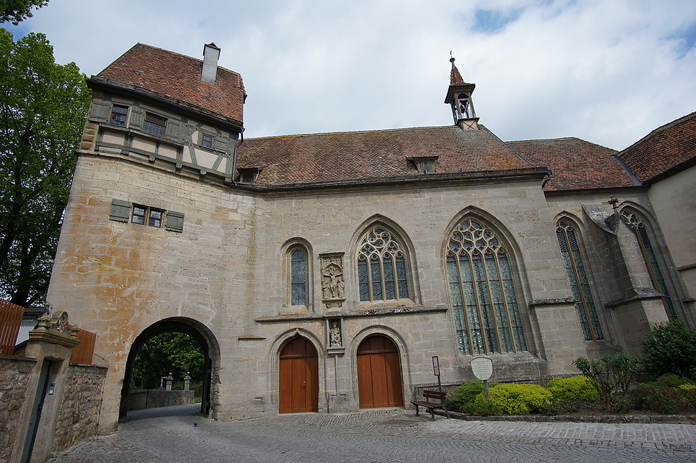 St. Wolfgang's Church in Rothenburg ob der Tauber