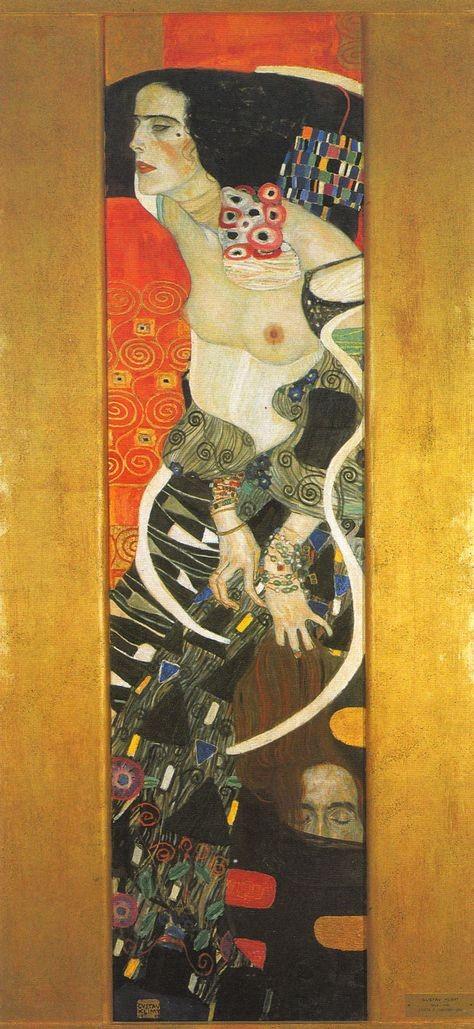 Gustav Klimt, Judith II, 1909 -- in Ca' Pesaro
