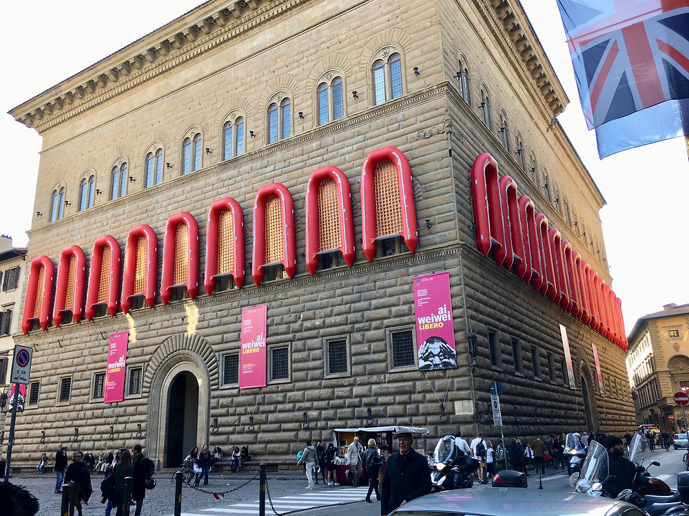 exterior of the Strozzi Palace