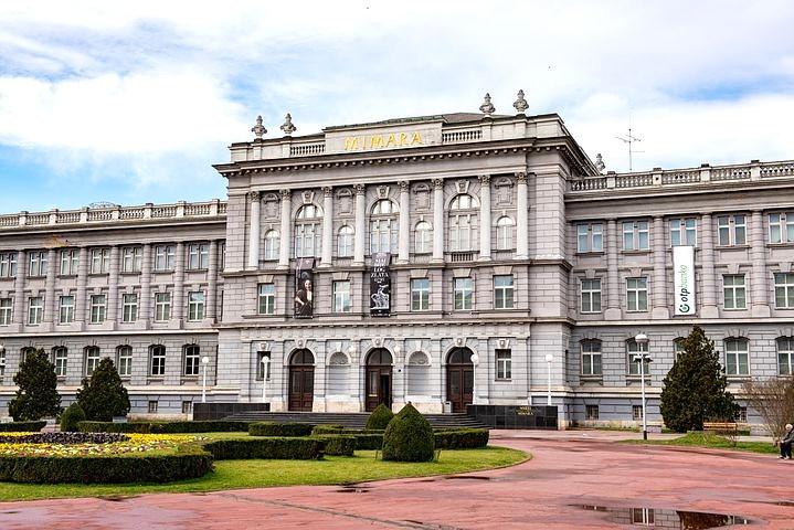 the Miramar Museum in Zagreb