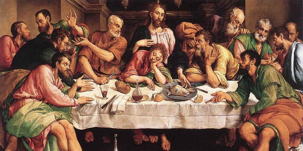 Jacopo Bassano, The Last Supper, 1542