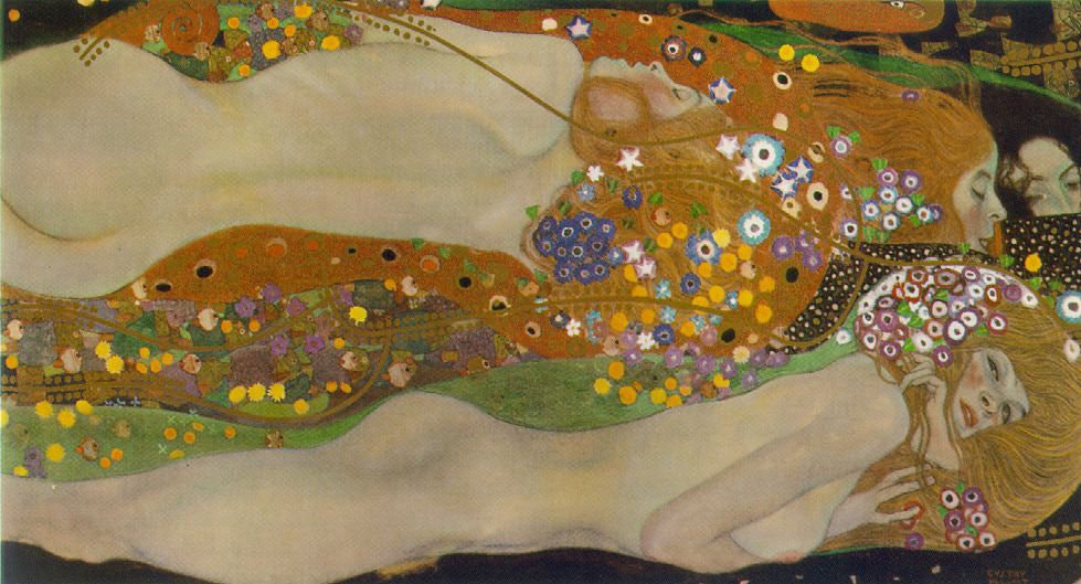 """Gustave Klimt's """"Water Serpents II,"""" looted in World War II and later recovered by heirs, sold for $183.8 million in 2012 to Rybolovlev, a Russian billionaire, who put it in storage."""