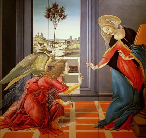 Botticelli, The Cestello Annunciation, 1489