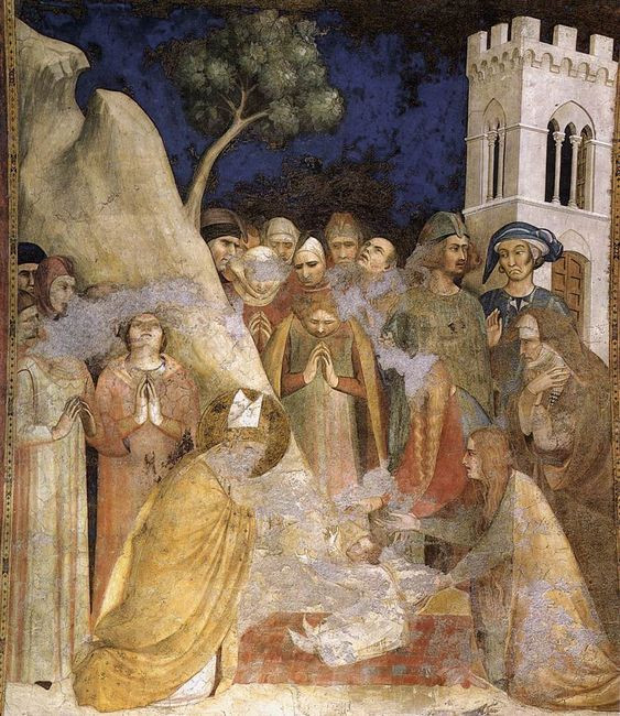 Simone Martini's Miracle of the Resurrected Child