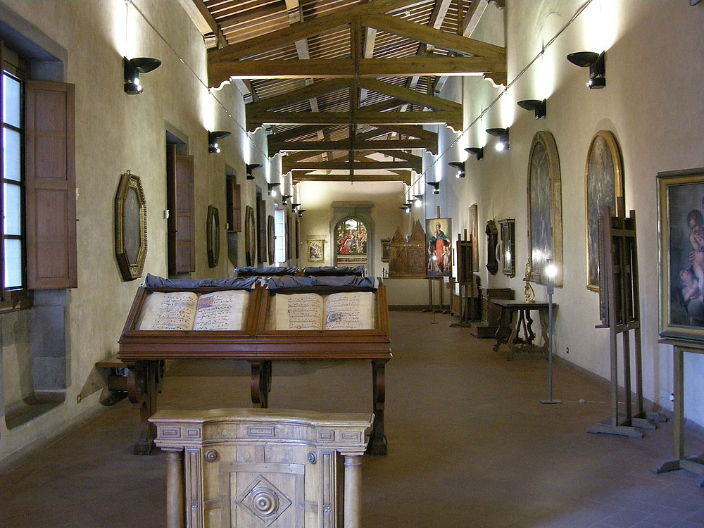 Gallery of the Ospedale degli Innocenti in Florence's Hospital of the Innocents
