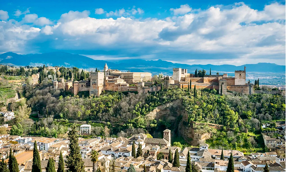 Granada and the mighty Alhambra