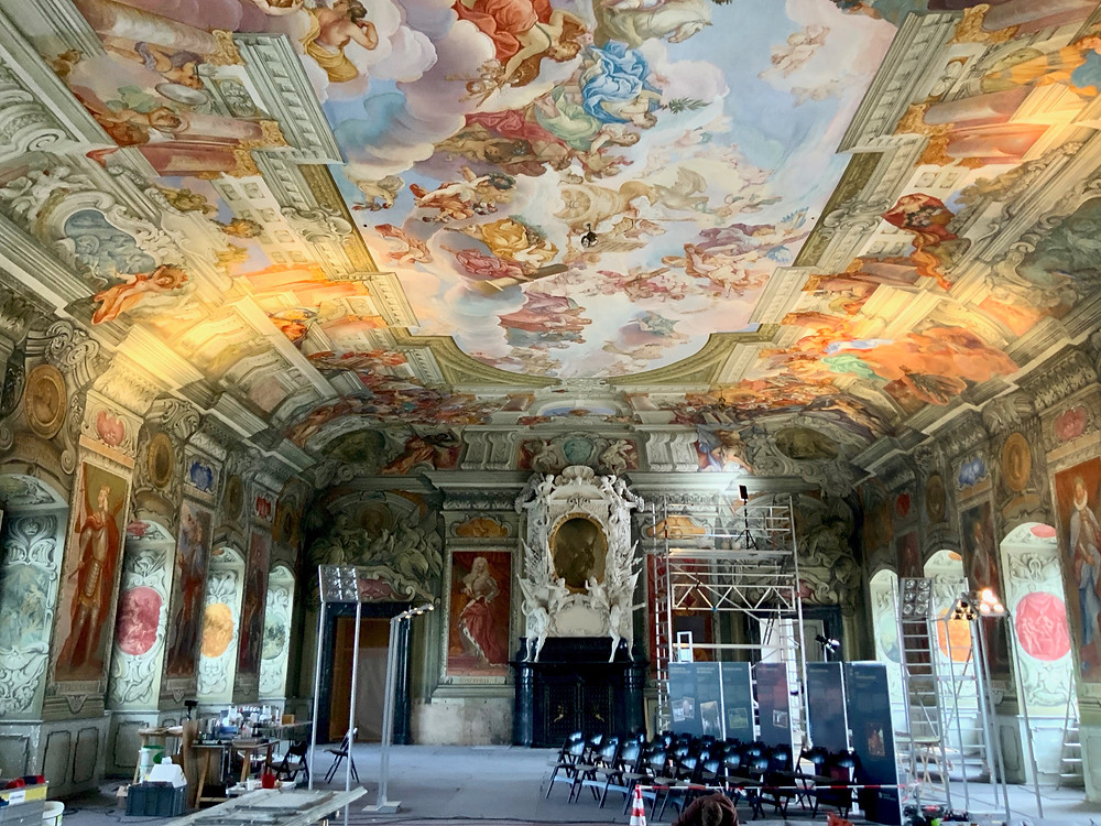 the Imperial Hall of Bamberg's Neue Residence