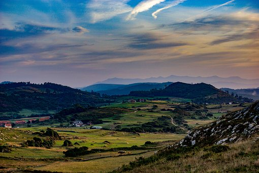 "the Cantabrian countryside in ""Green Spain"""