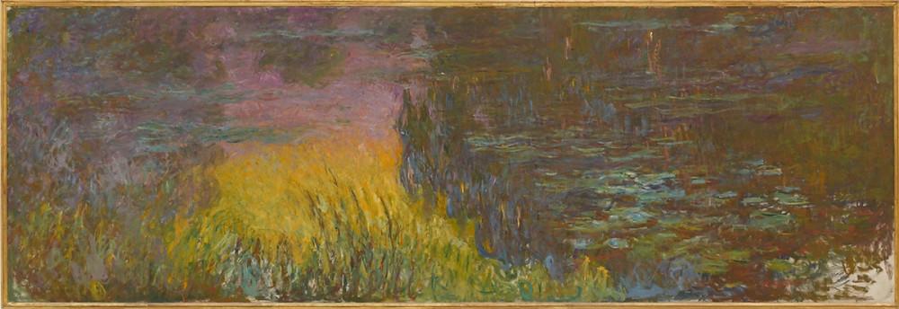 Claude Monet, Water Lilies: Setting Sun
