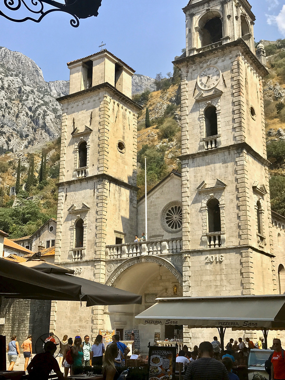 St. Tryphon Church in Kotor, also known as Kotor Cathedral