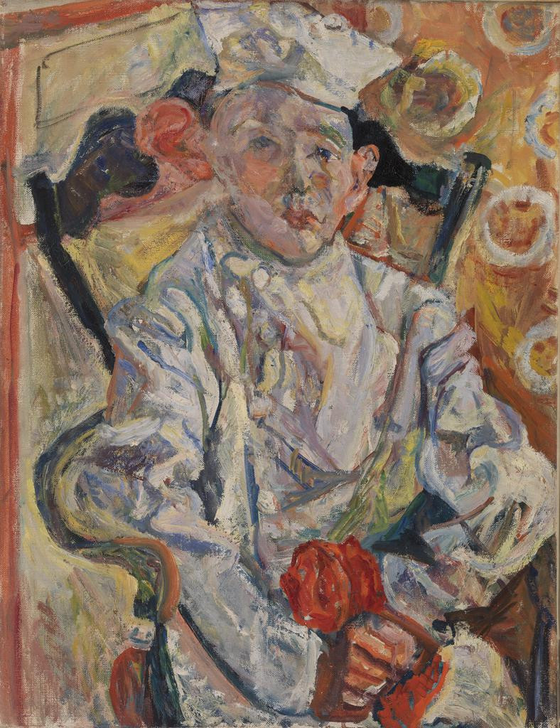 Chaime Soutine, The Pastry Chef, 1919