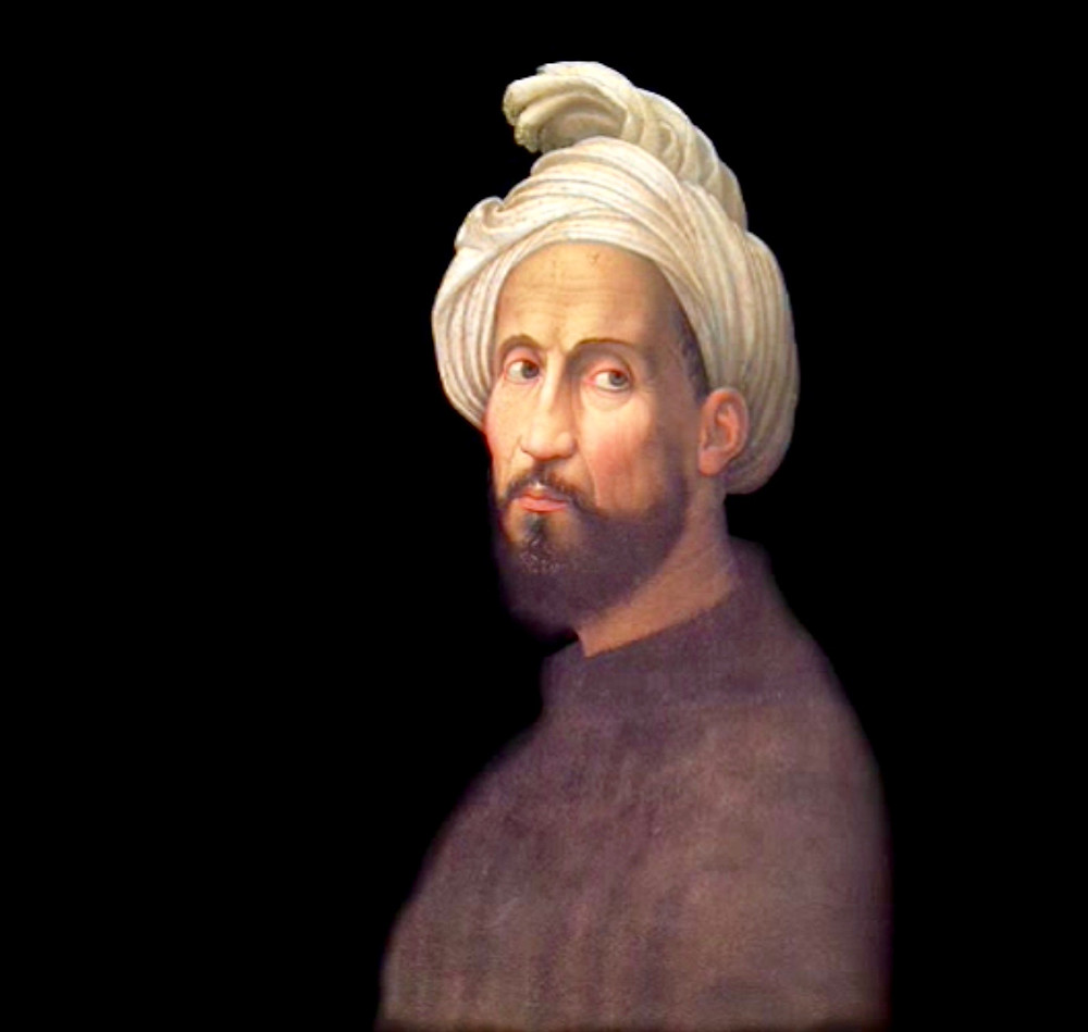 Giuliano Bugiardini, Portrait of Michelangelo Buonarroti With Turban, 1522