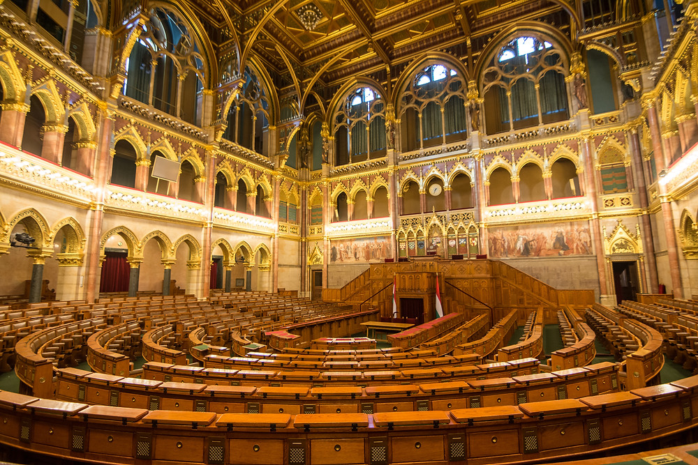 the Assembly Hall of Budapest Parliament